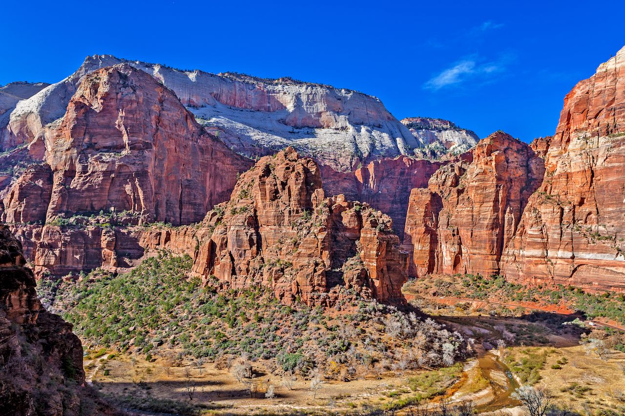 East Mesa Trail, above Weeping Rock, in Zion Nation Park