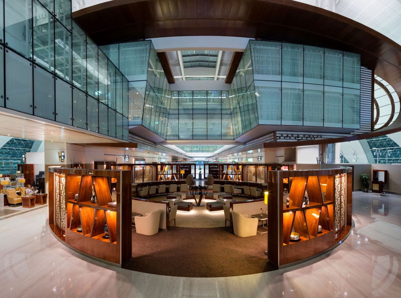 Emirates First Class Lounge, Dubai International Airport, Dubai