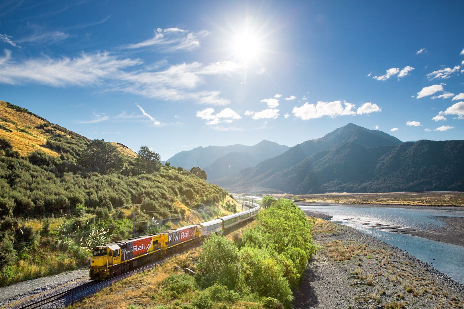 Best train ride in New Zealand