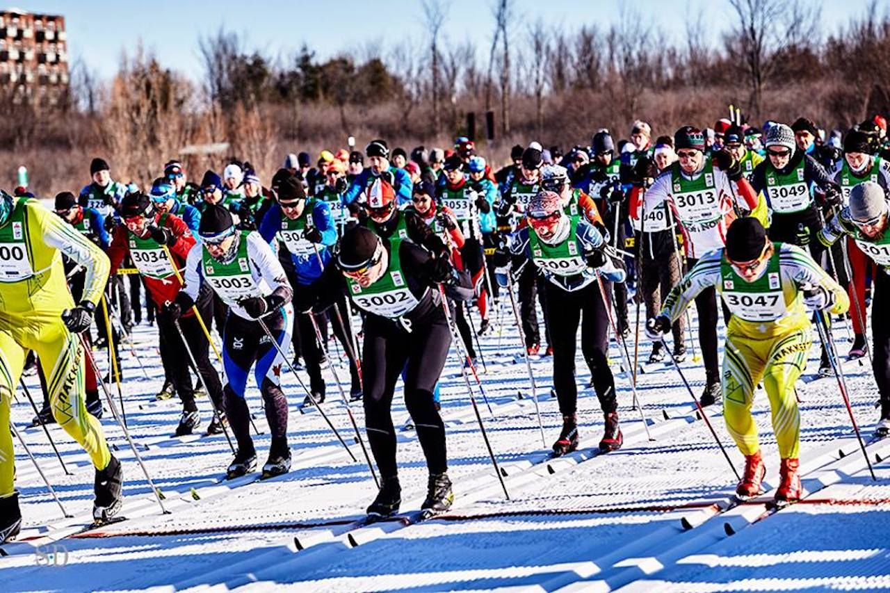 Gatineau Loppet cross-country ski race