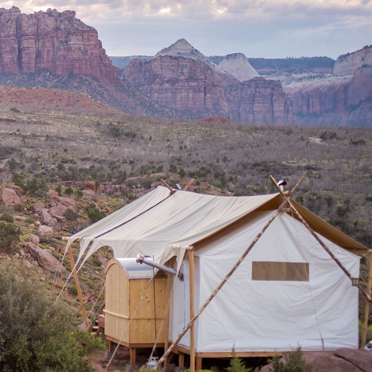 Glamping by the Grand Canyon