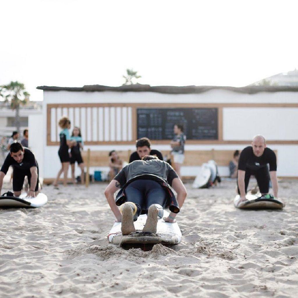 Guys on the beach, Spain Seven Degrees LGBTQ tour