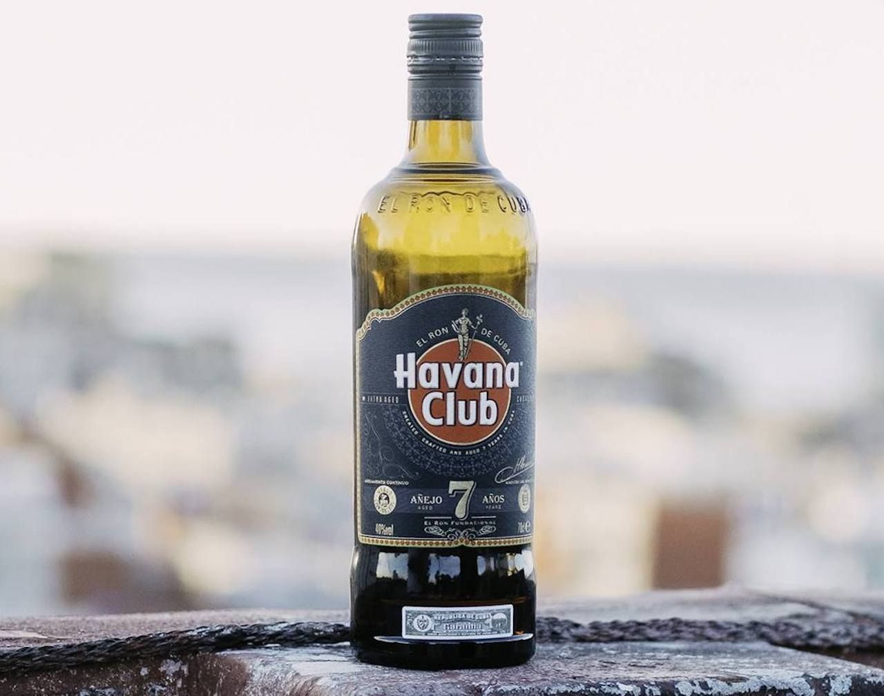 Havana Club rum aged 7 years