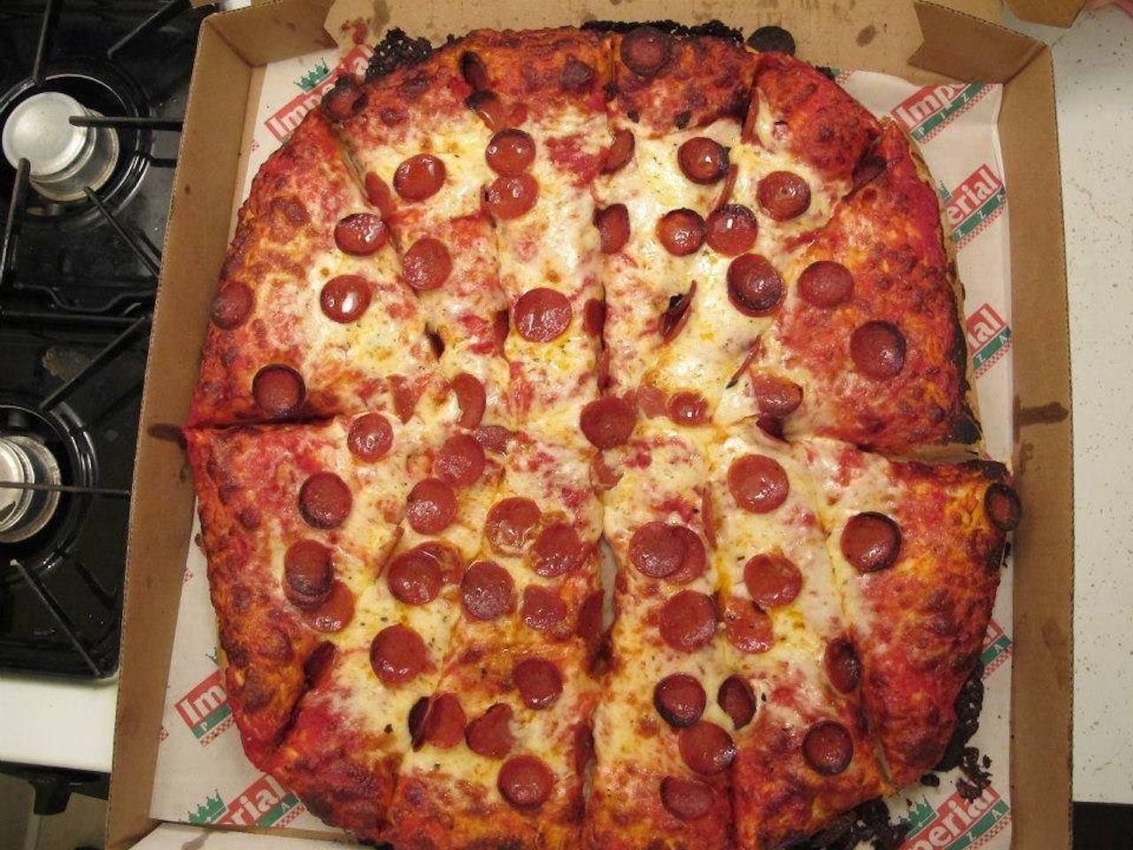 Imperial pizza from Forgotten Buffalo in western NY