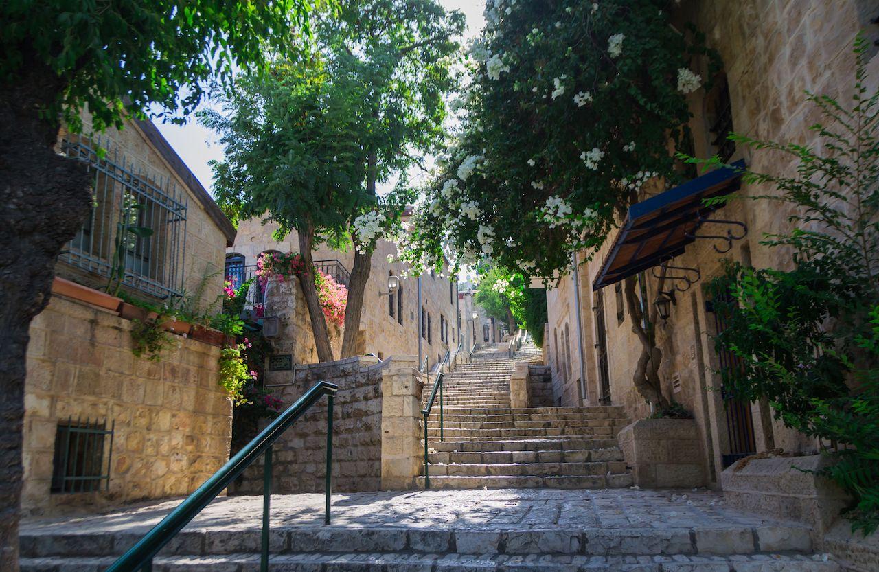 Jerusalem quiet street