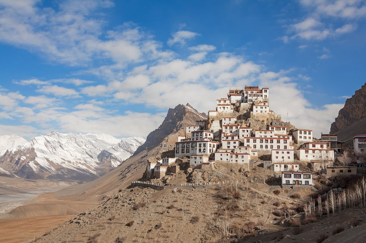 Key Gompa Monastery in India