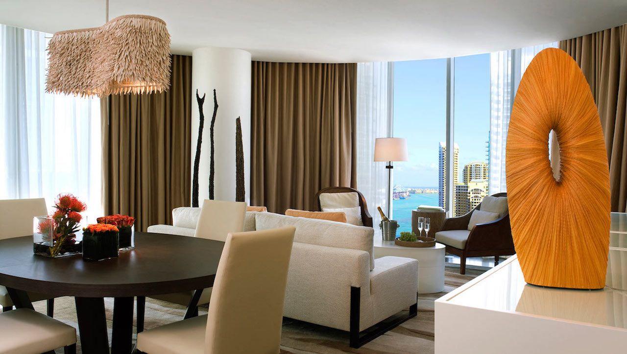 Kimpton Epic luxury hotel room in Miami