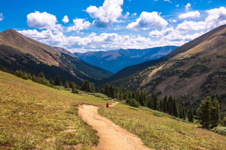 Mountain trail in Colorado, USA