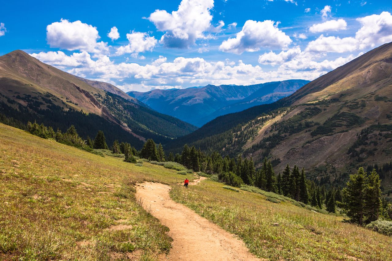 Mountain trail in Colorado, USA