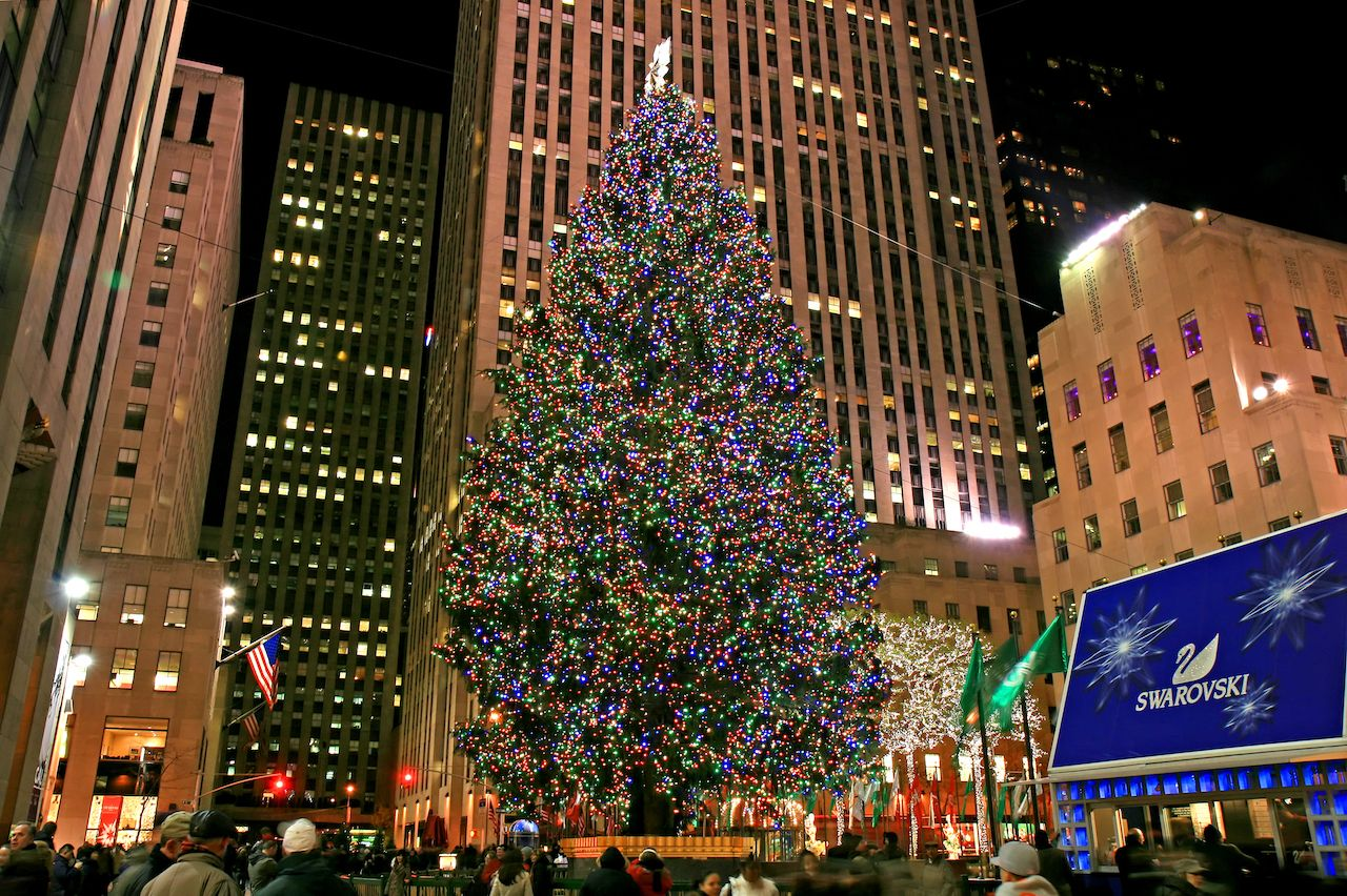 NYC Rockefeller Center Christmas tree