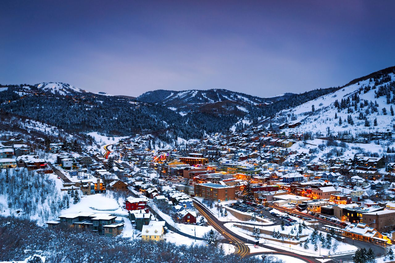 The best ski towns to shop and eat