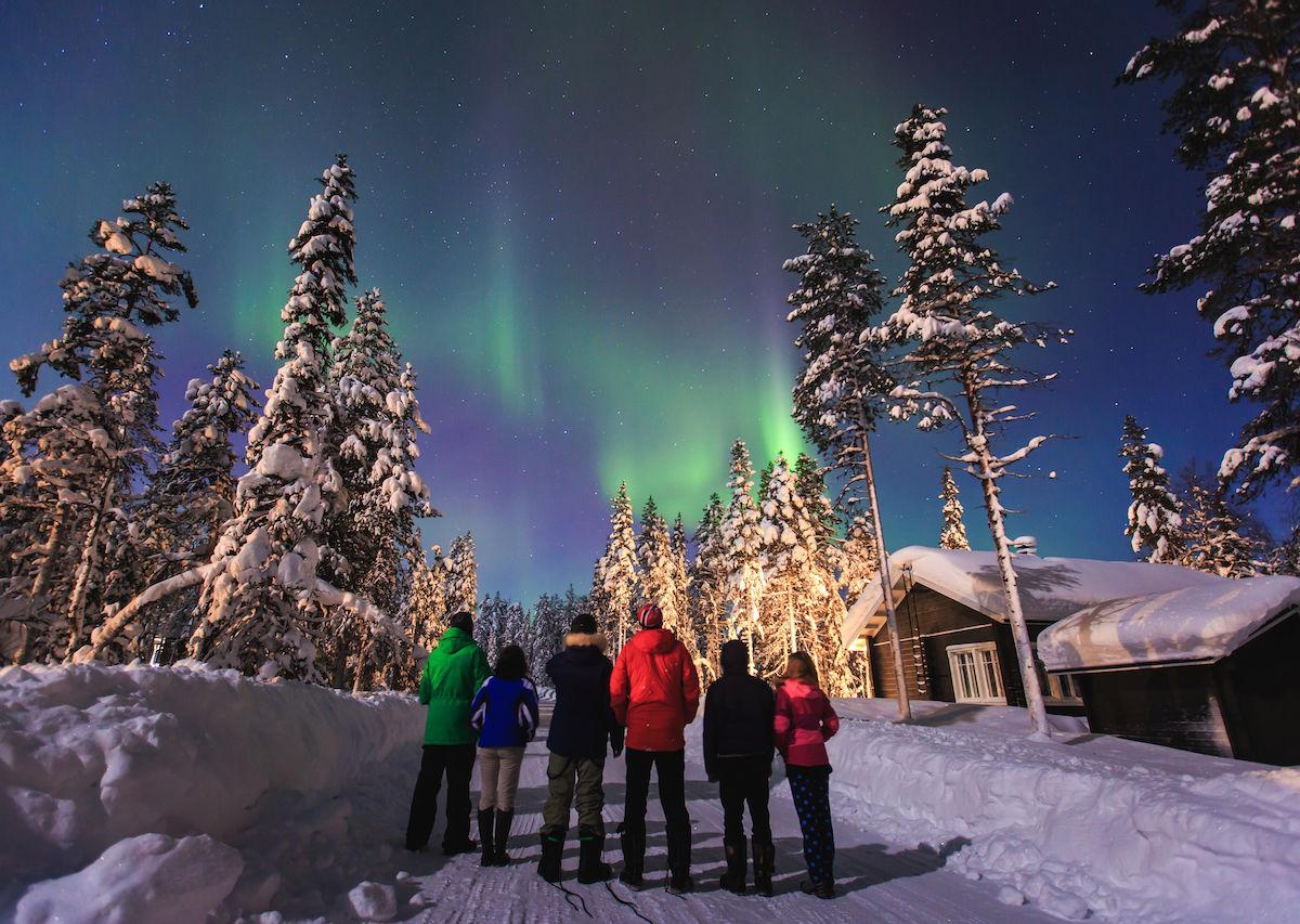 Home To Santa Claus Finland S A Winter Wonderland