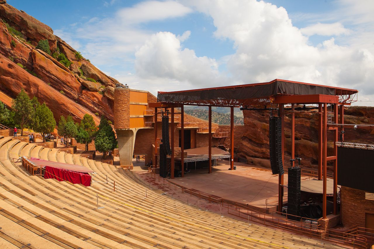 Red Rocks Amphitheater in Denver, Colorado
