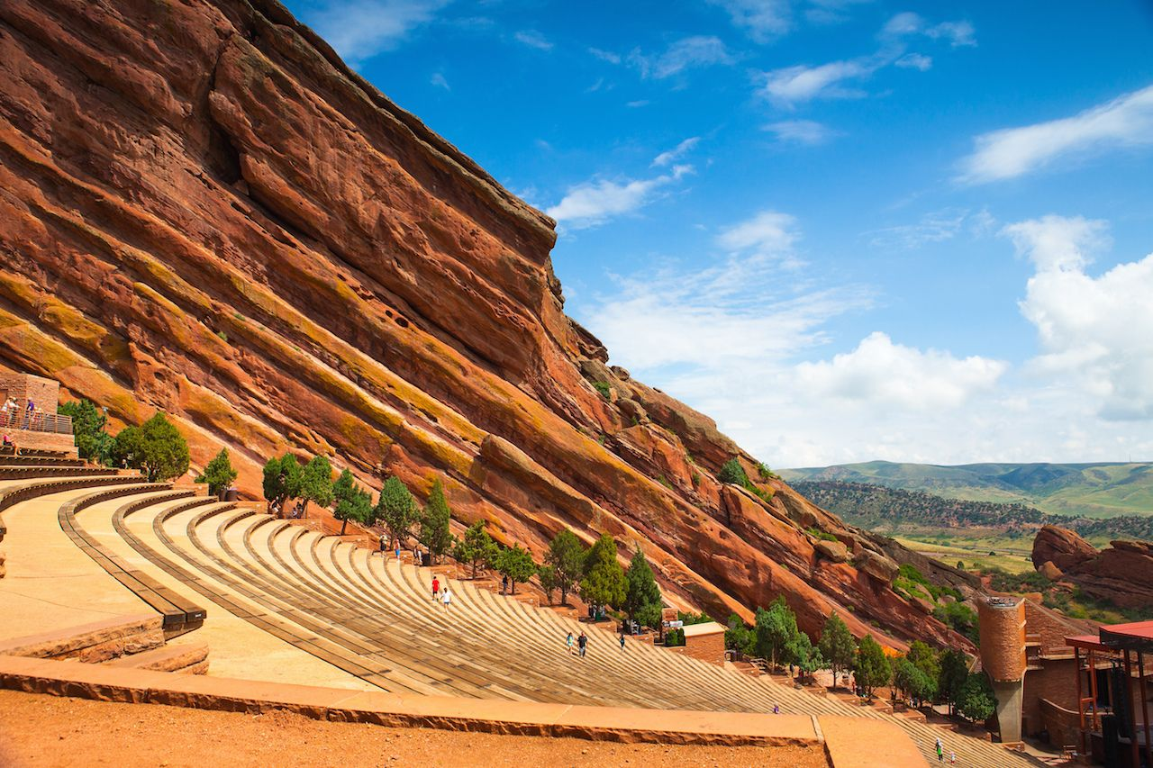 Red Rocks Ampitheter in Denver, Colorado