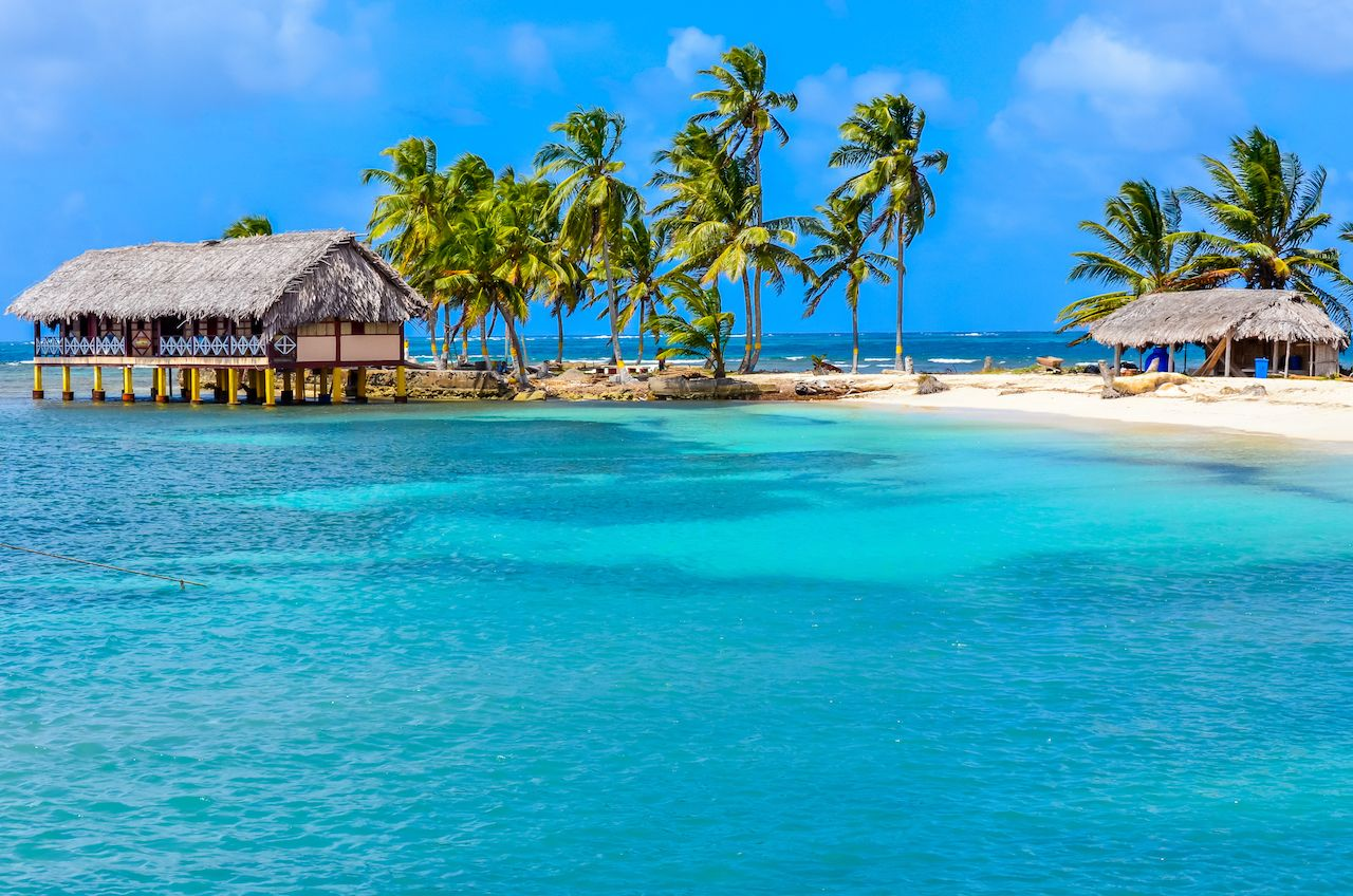 San Blas island Panama