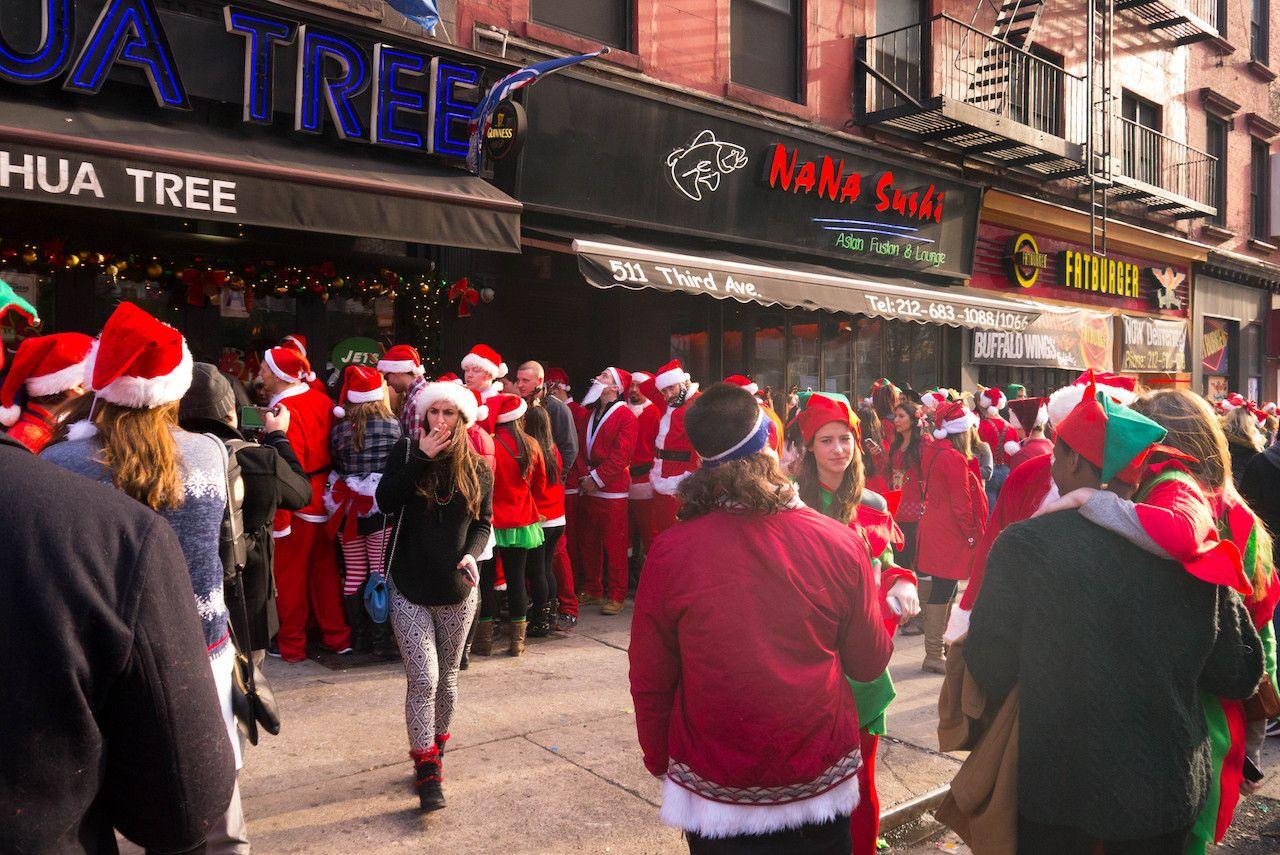 Santa Con in NYC