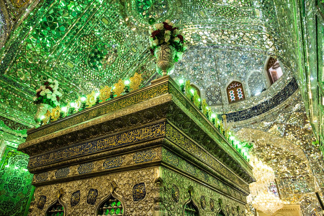Shah-e-Cheragh complex Shrine and mausoleum