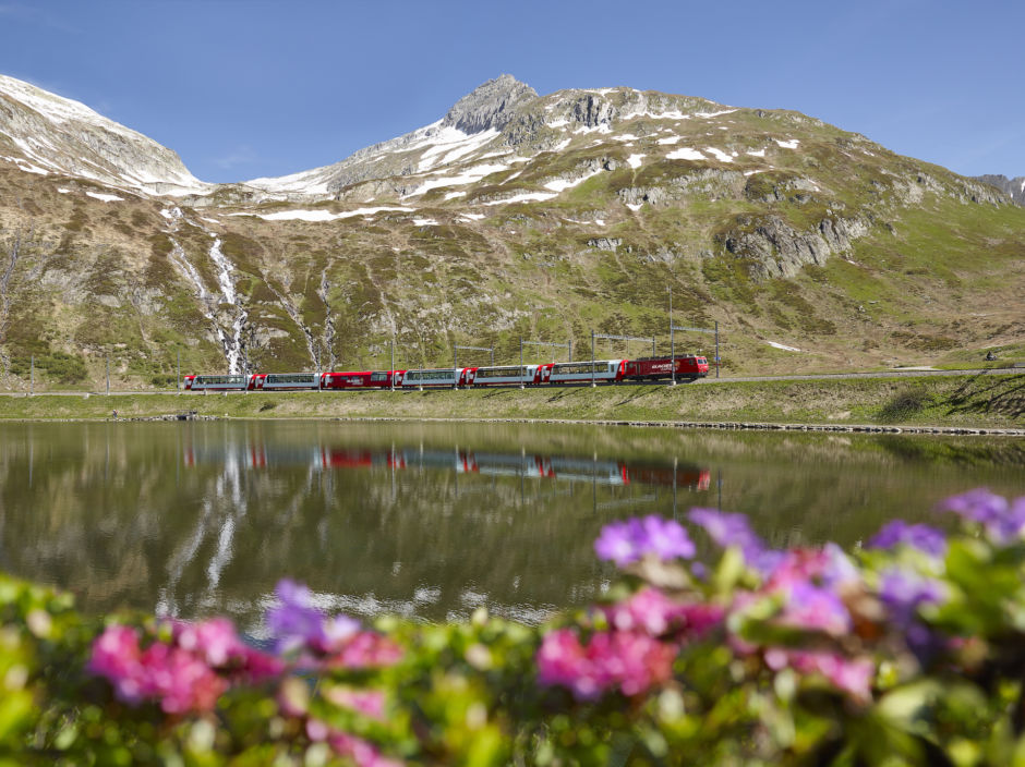 The best train ride in Europe is the Glacier Express