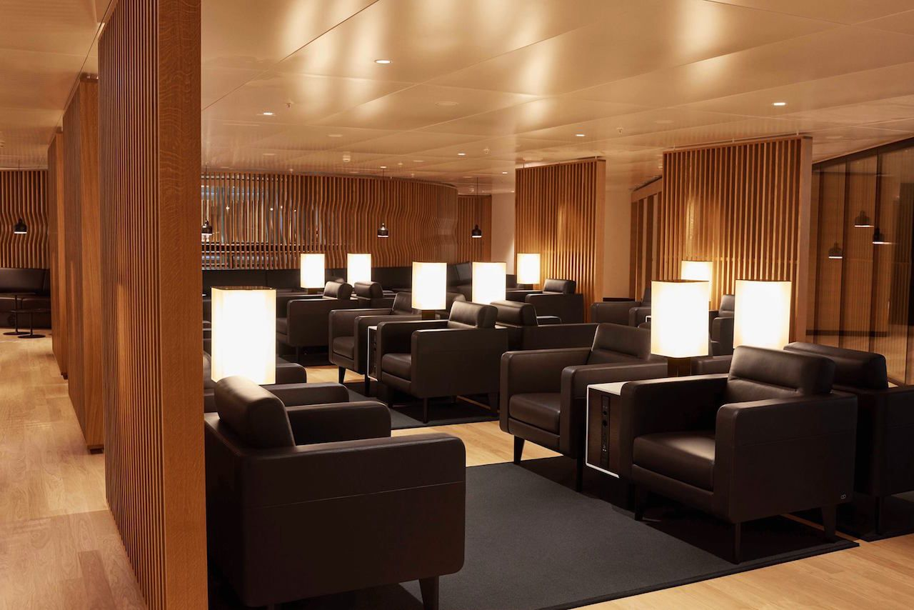 Swiss First Lounge, Kloten Airport, Zurich