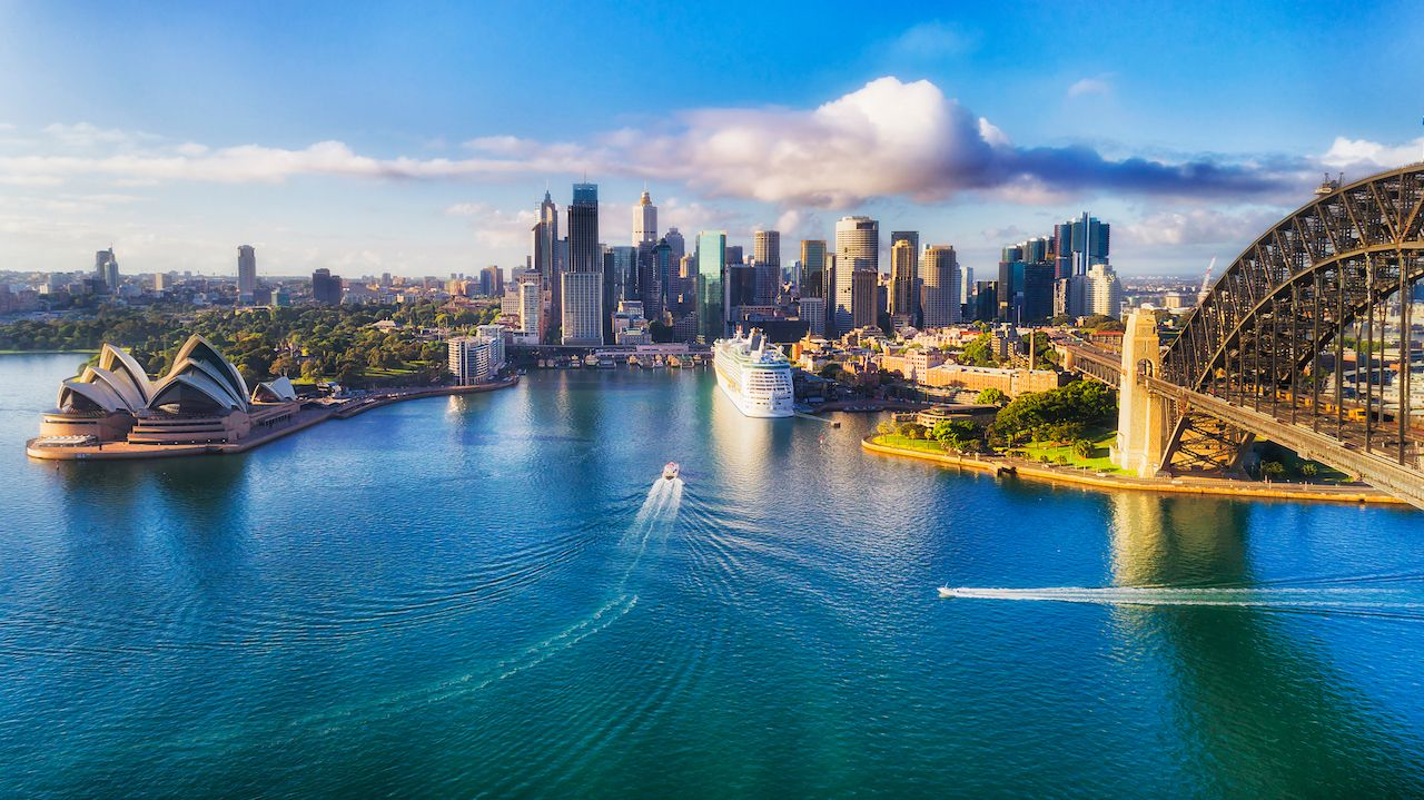 Sydney Australia aerial