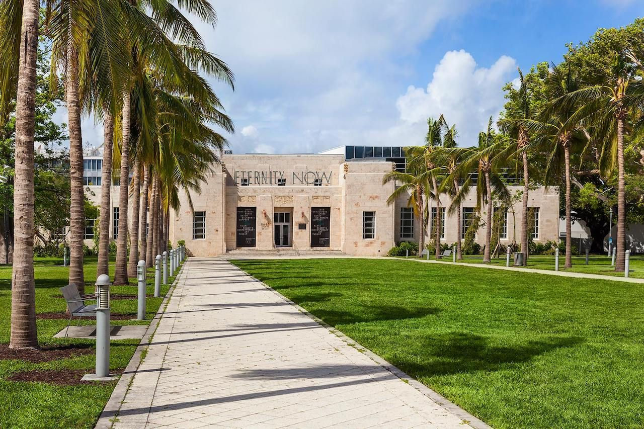 The Bass Museum in Miami, Florida