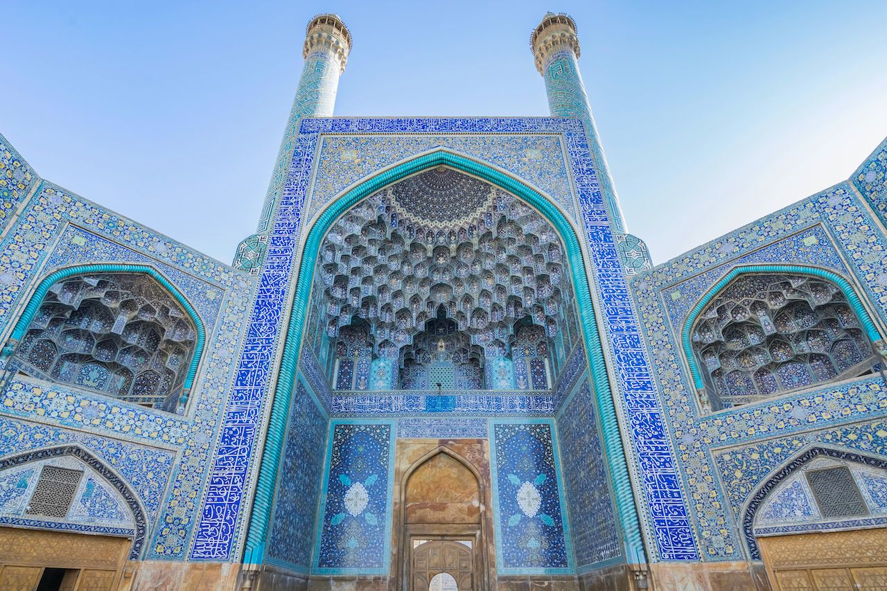 The Jameh Mosque in Iran