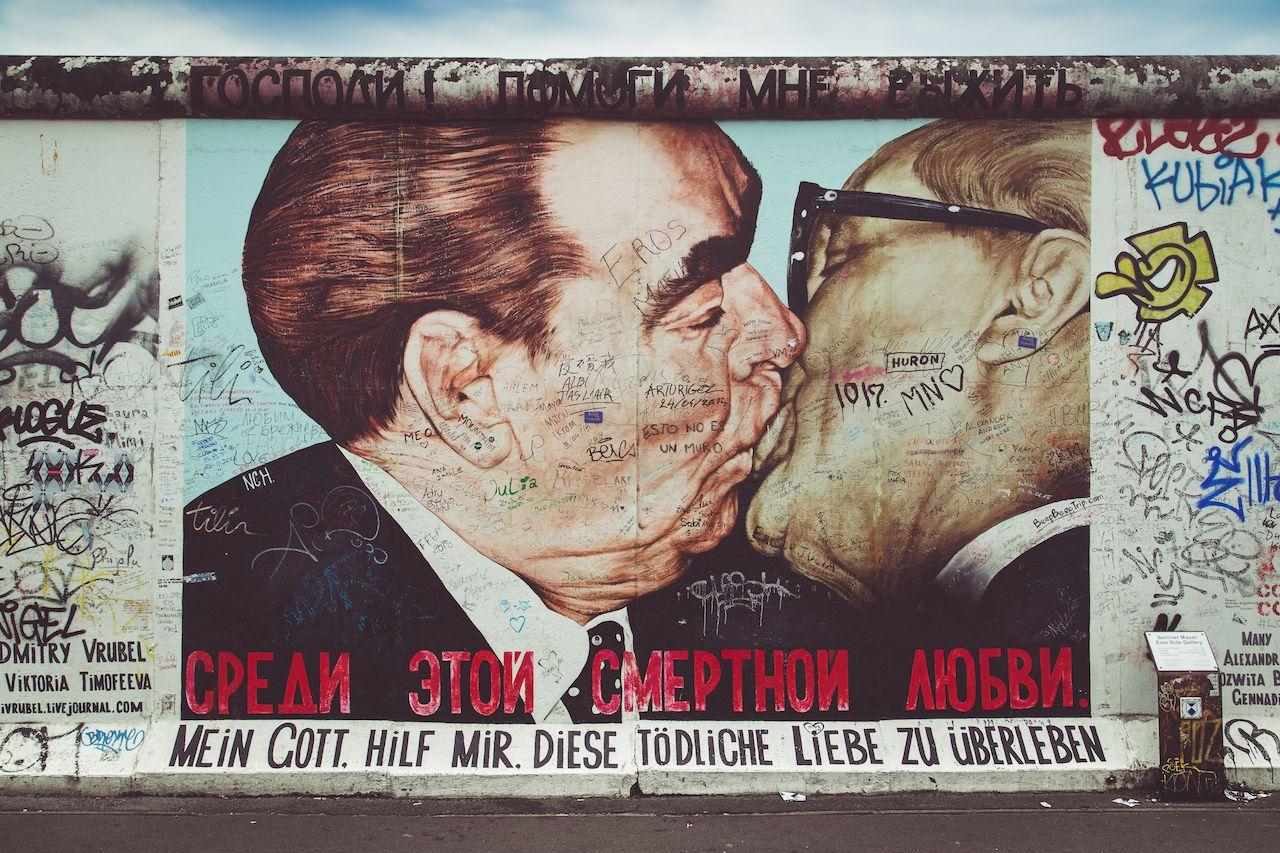 Berlin Wall art now preserved
