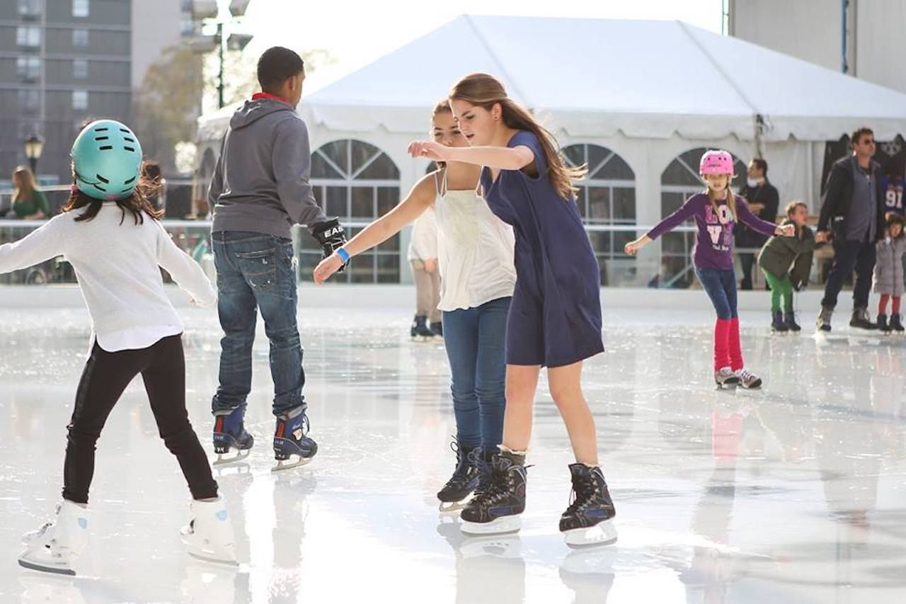 The Rink at Brookfield Place with Gregory and Petukhov