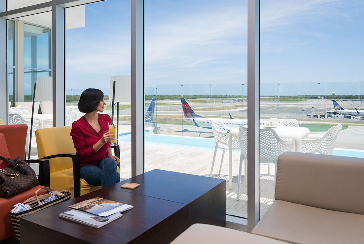 The VIP Lounge Club, Punta Cana International Airport, Dominican Republic
