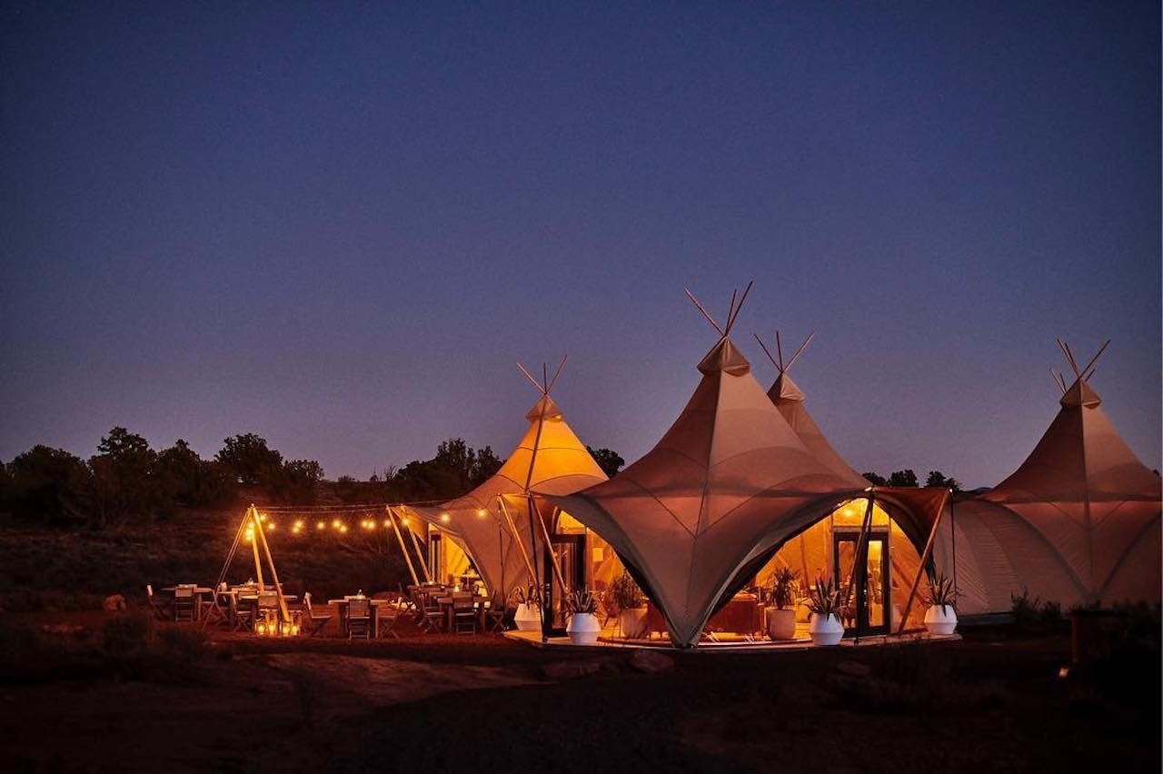 Under Canvas Grand Canyon glamping