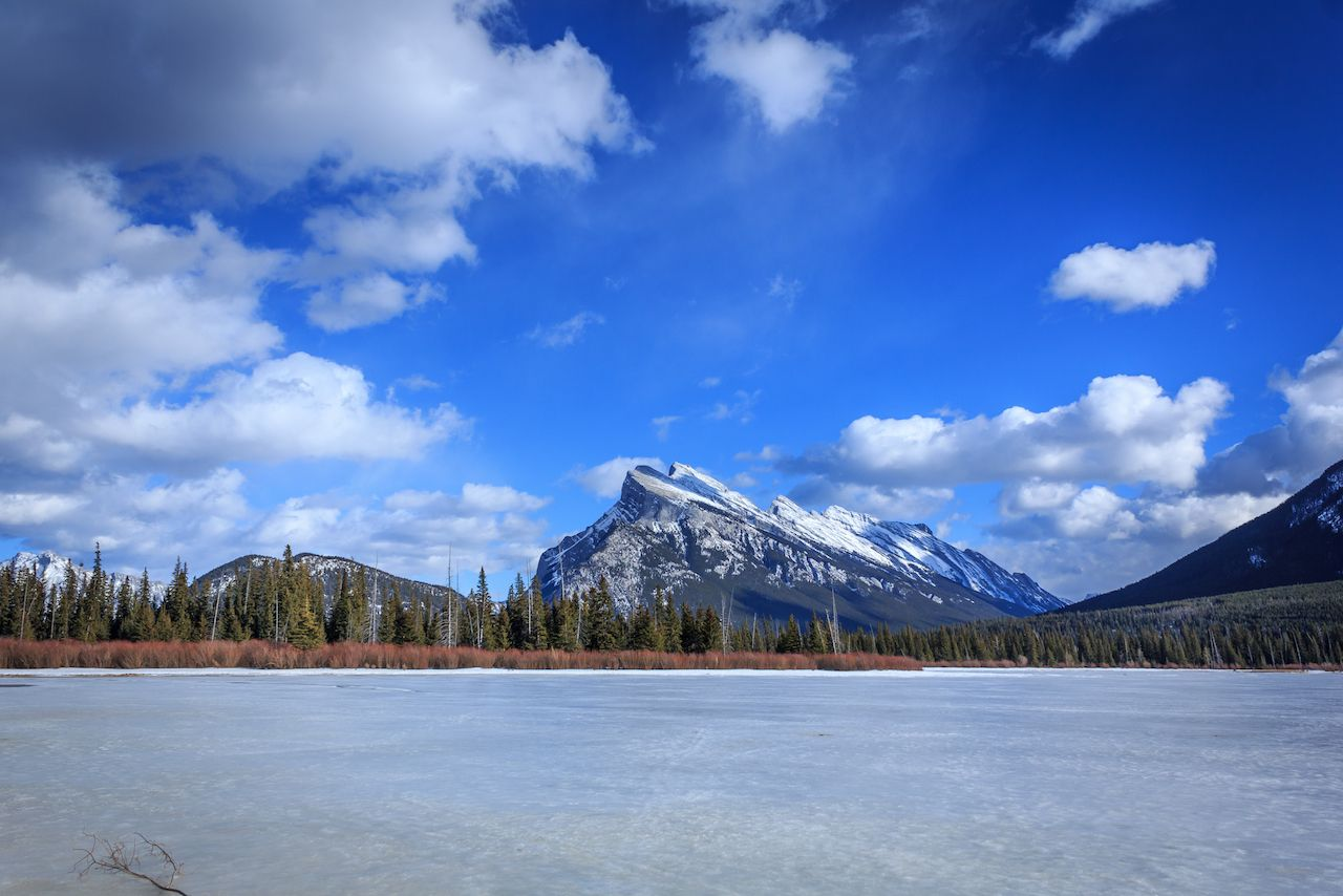 Vermilion Lake and Mount Rundle, Banff National Park, Canada