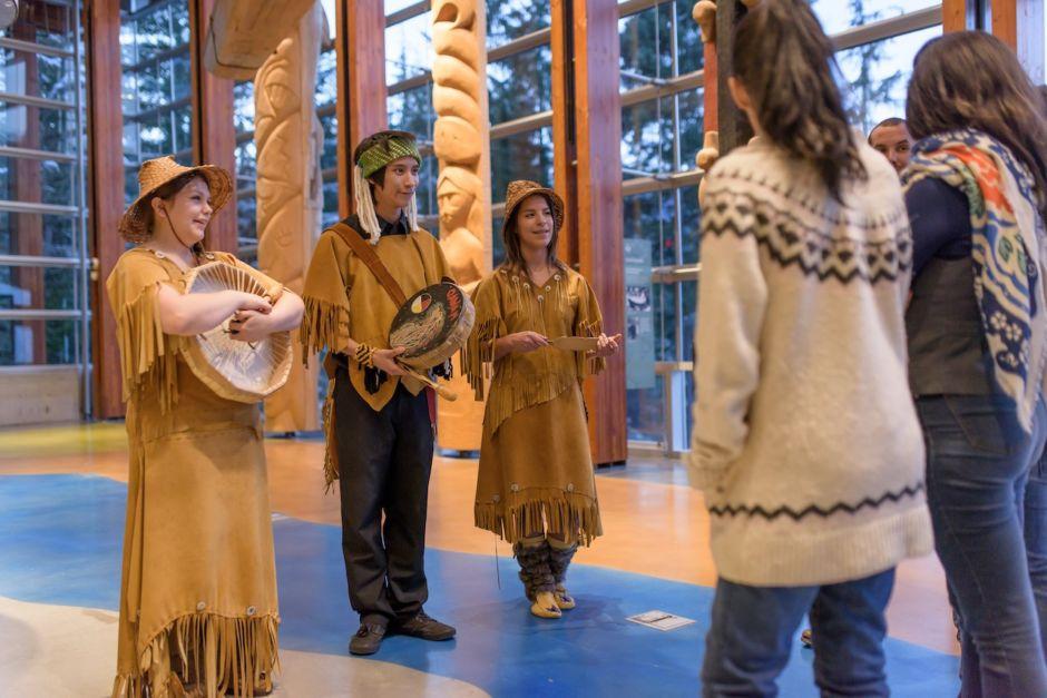Whistler Canada Squamish Culture Center