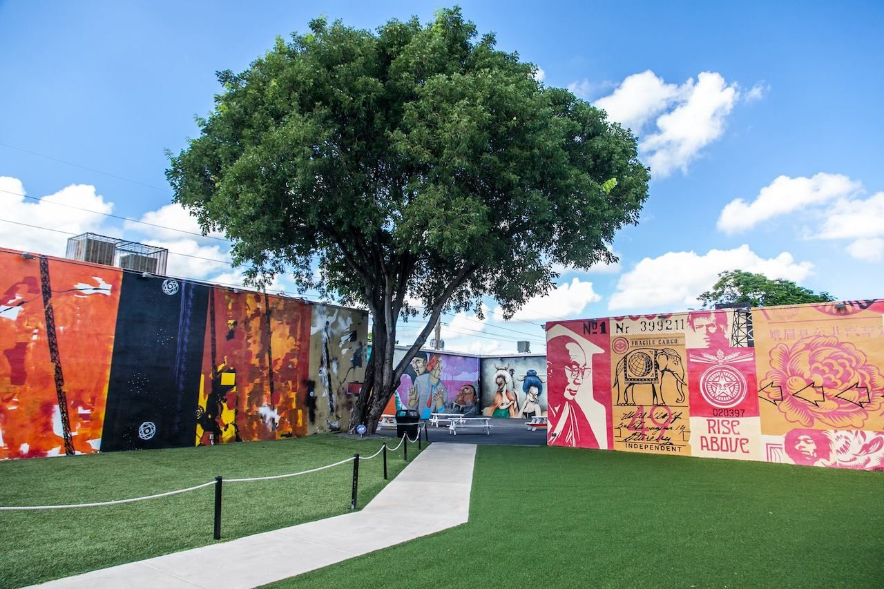 Wynwood Walls in Miami, Florida