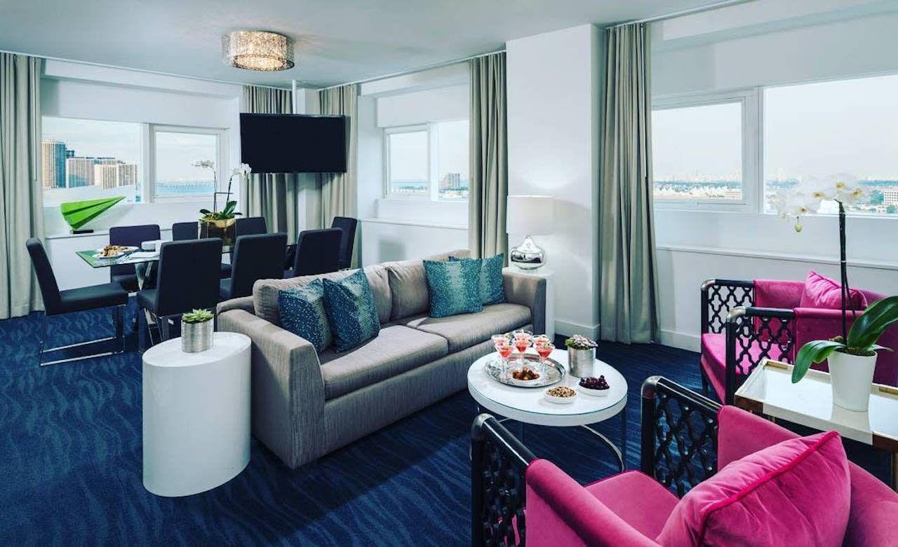 YVE Hotel room in Miami