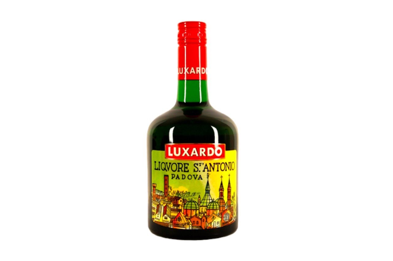 bottle of luxardo Liquore St. Antonio