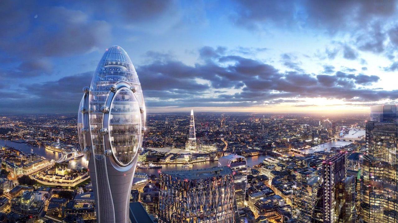 London's latest skyscraper