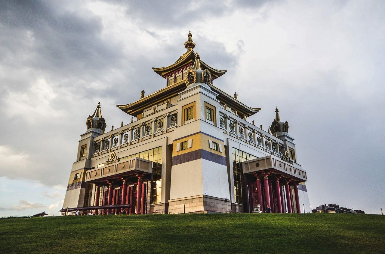 Golden Abode of the Buddha Shakyamuni