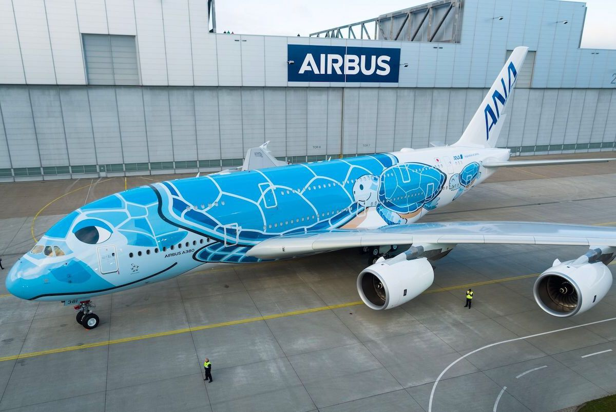ANA's new turtle-themed A380 is the coolest plane livery in the skies