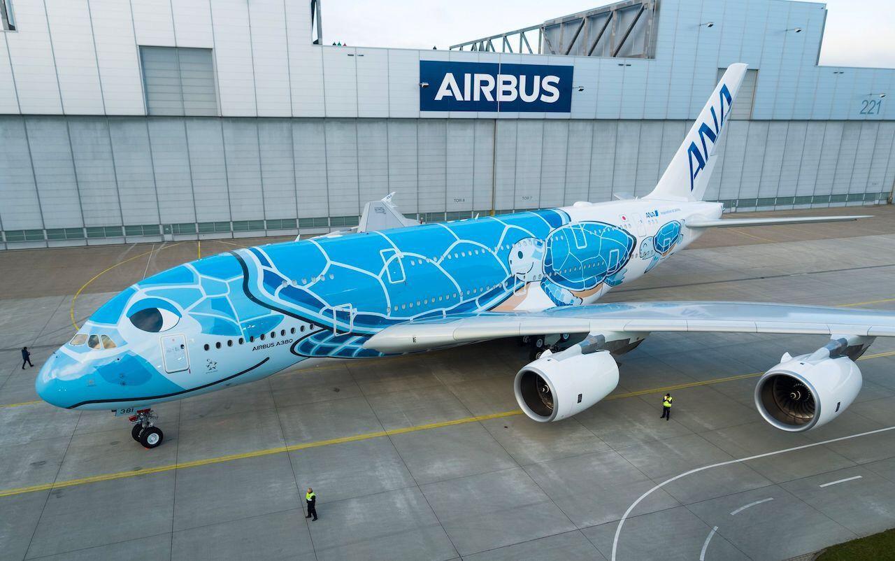 ANA new sea turtle plane livery