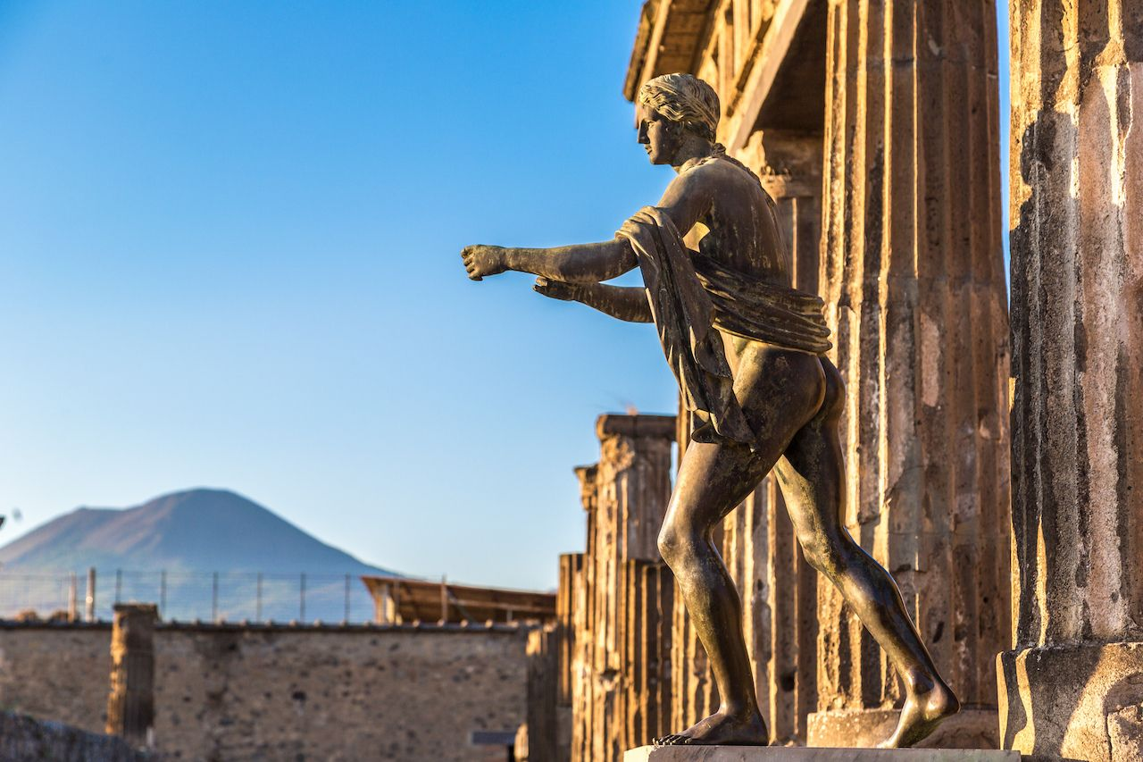 Ancient City of Pompei, Italy