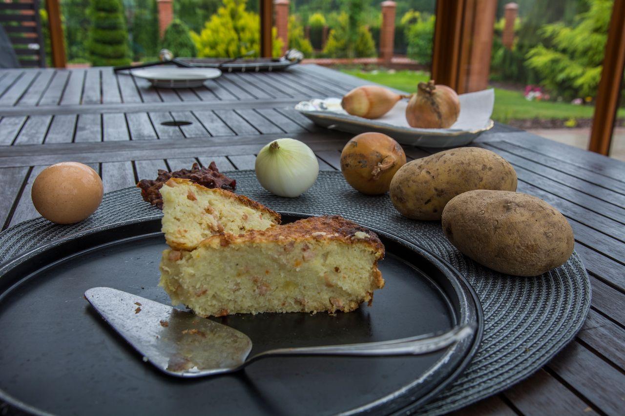 Babka, traditional polish cake