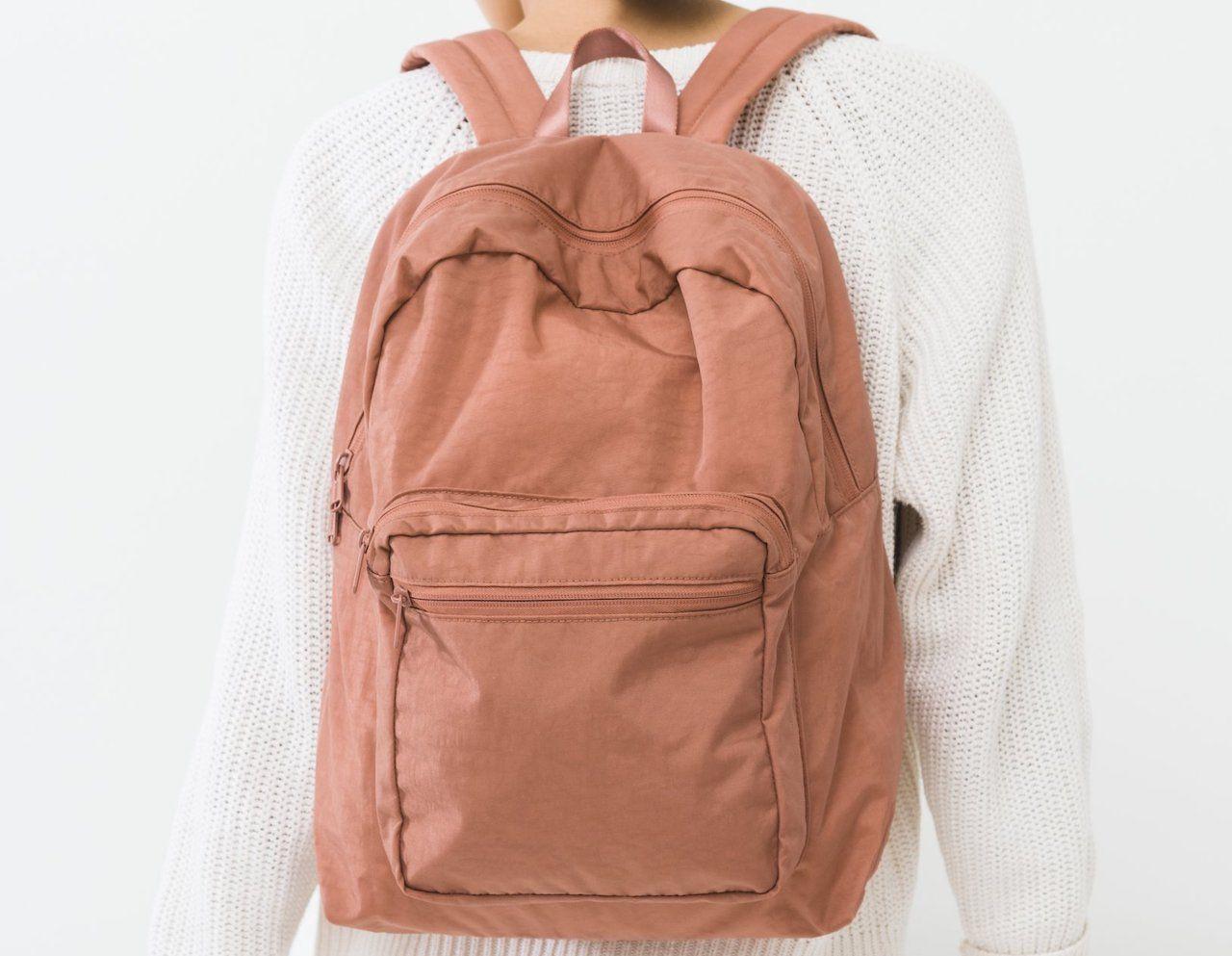 Baggu backpack for bartenders
