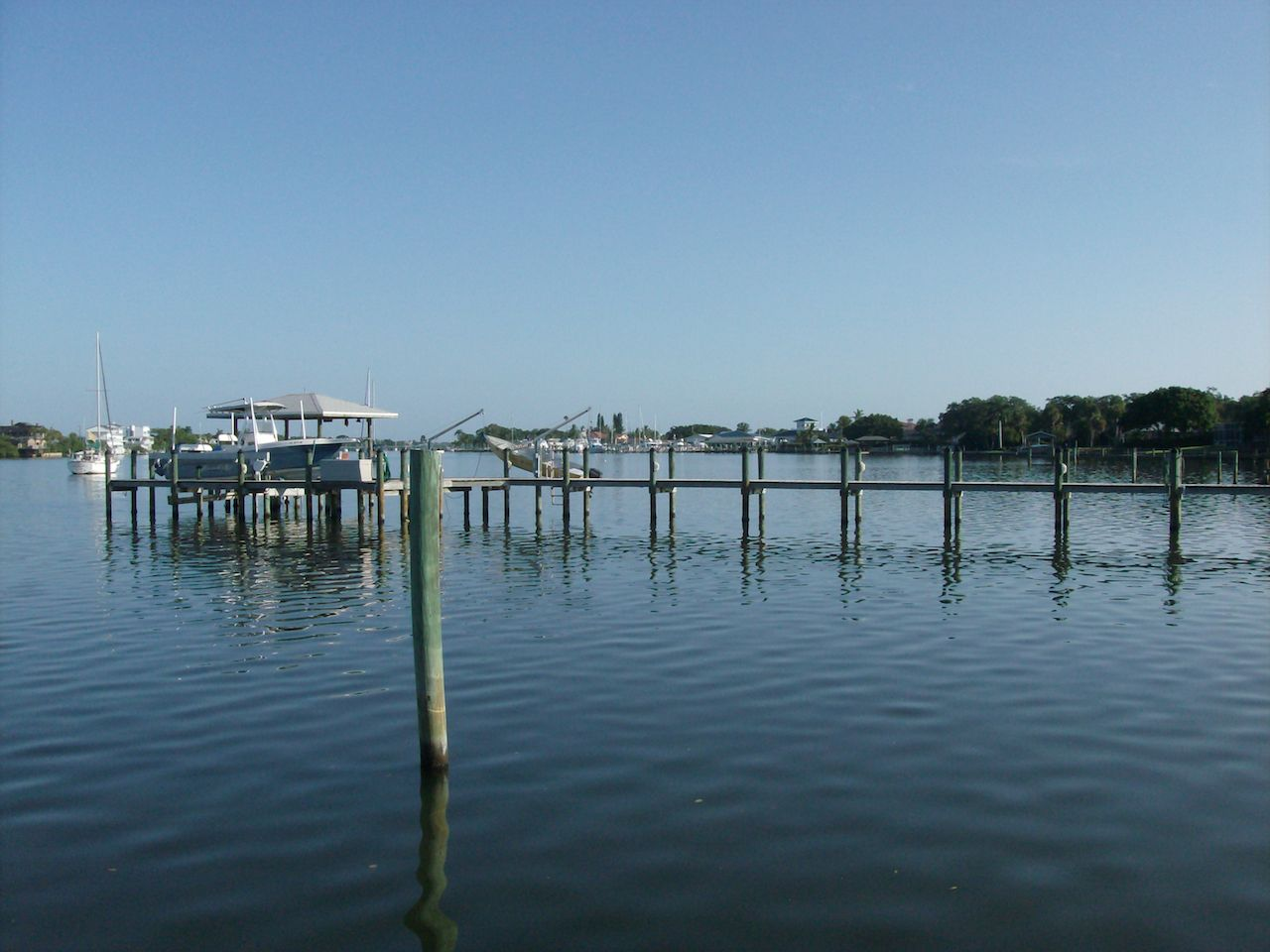 Banana River from Indian Harbor Beach
