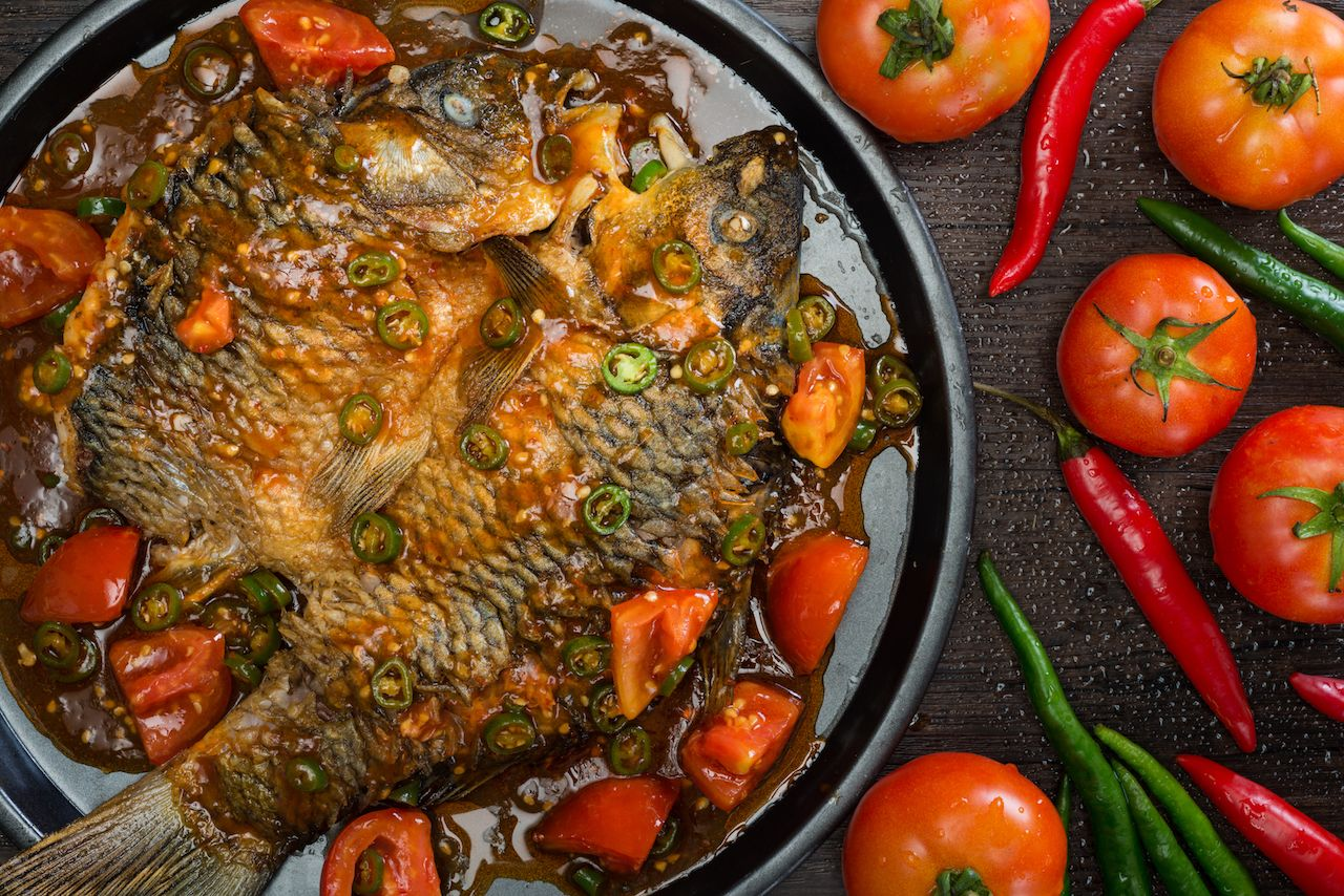 Beer fish traditional Chinese recipe