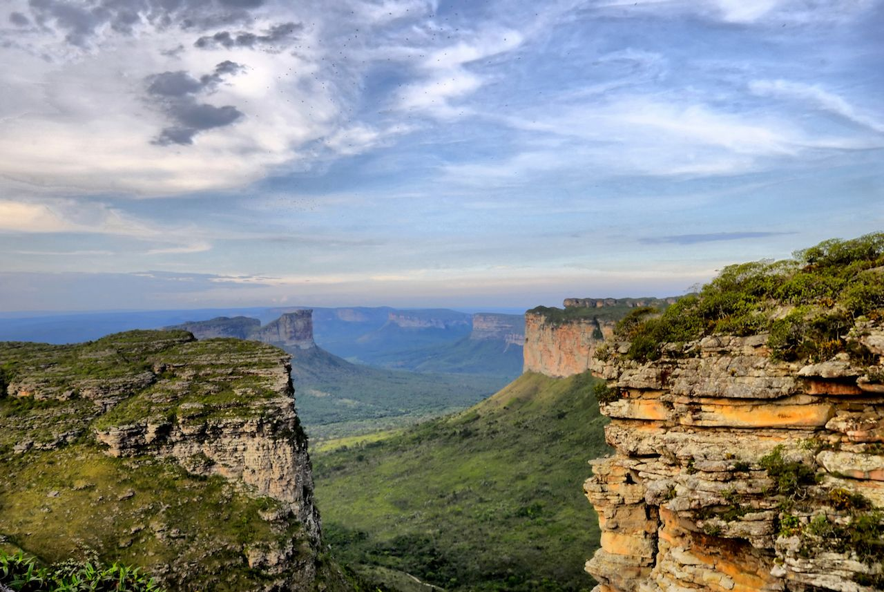 Chapada Diamantina National Park lush landscape in Brazil