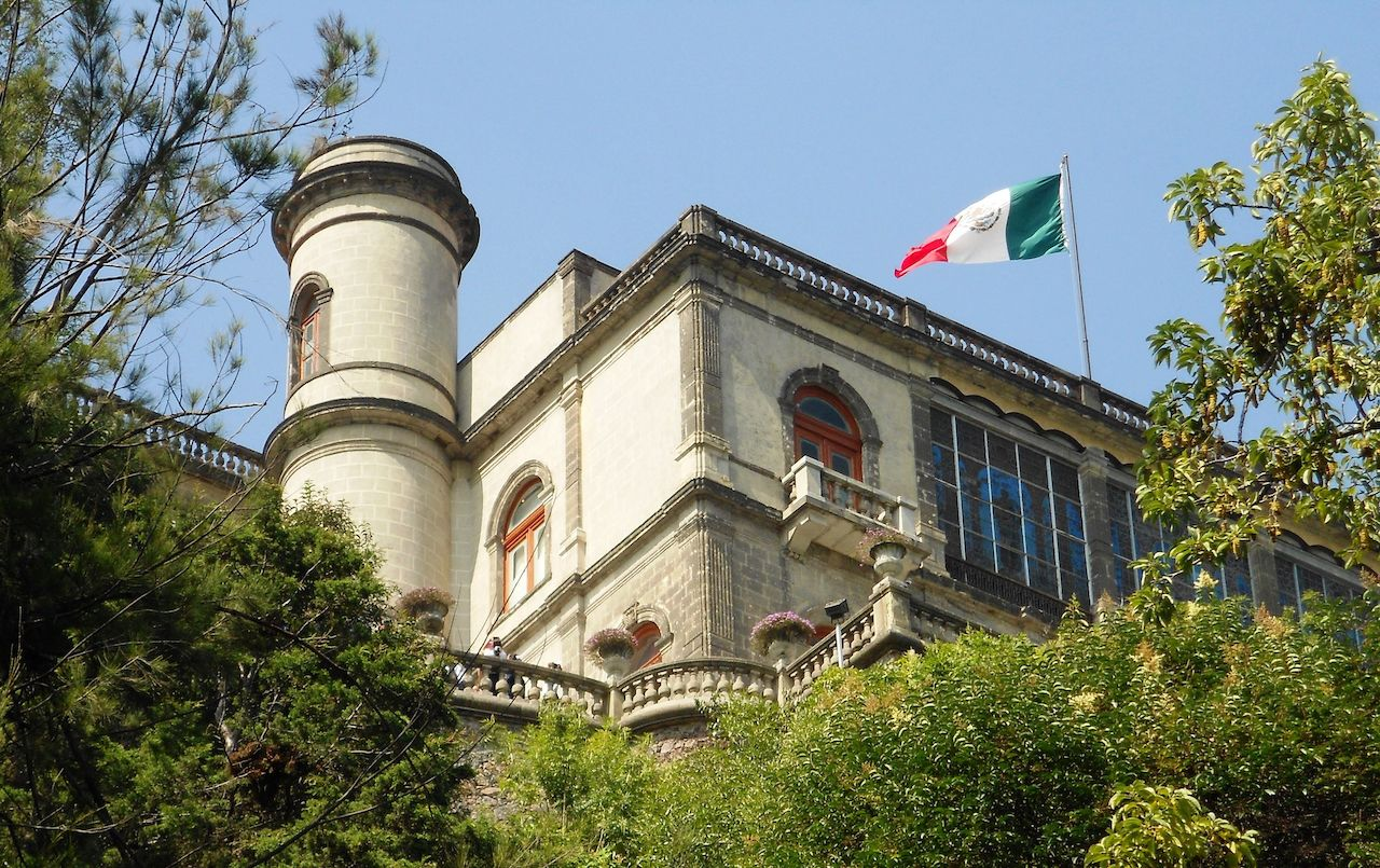 Chapultepec Castle in Mexico