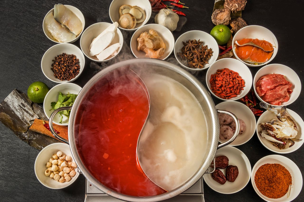 Chinese hot pot