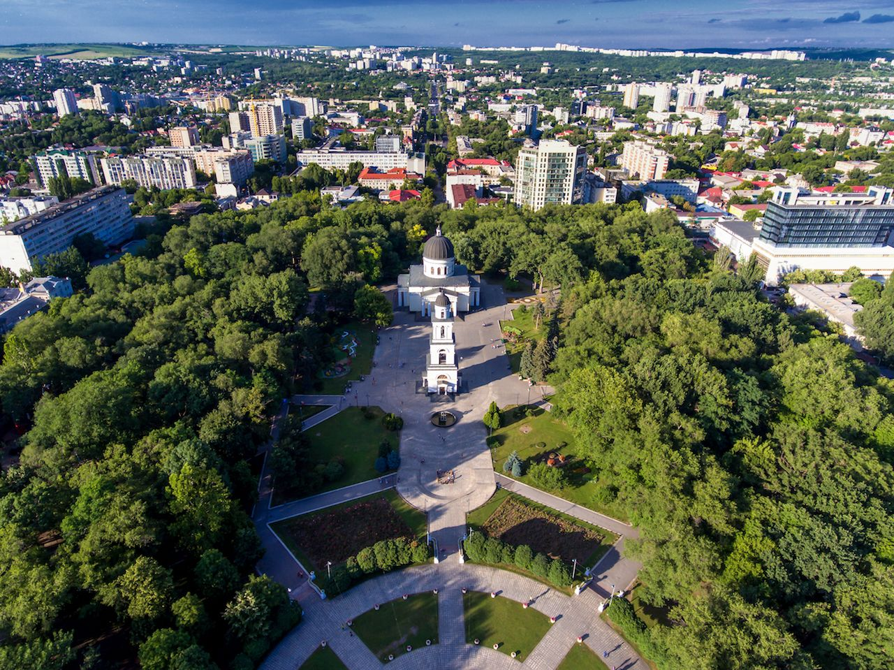 Chisinau, the capital city of the Republic of Moldova