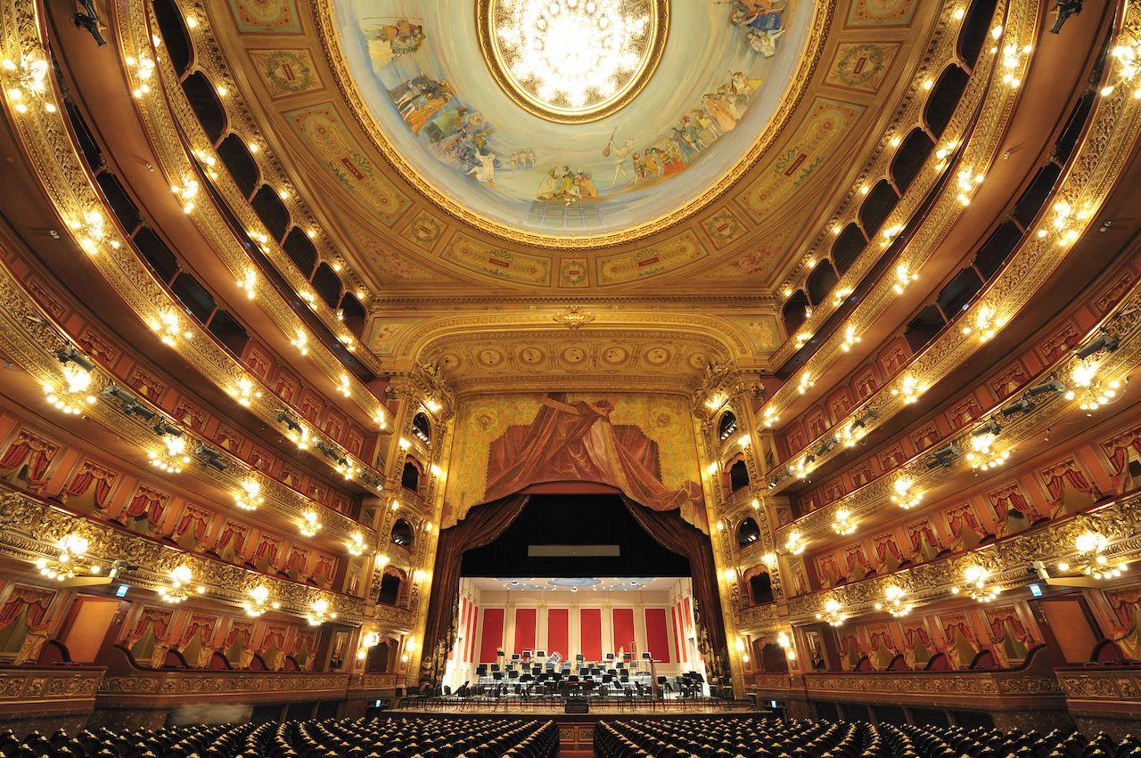 Colon Theatre in Buenos Aires, Argentina