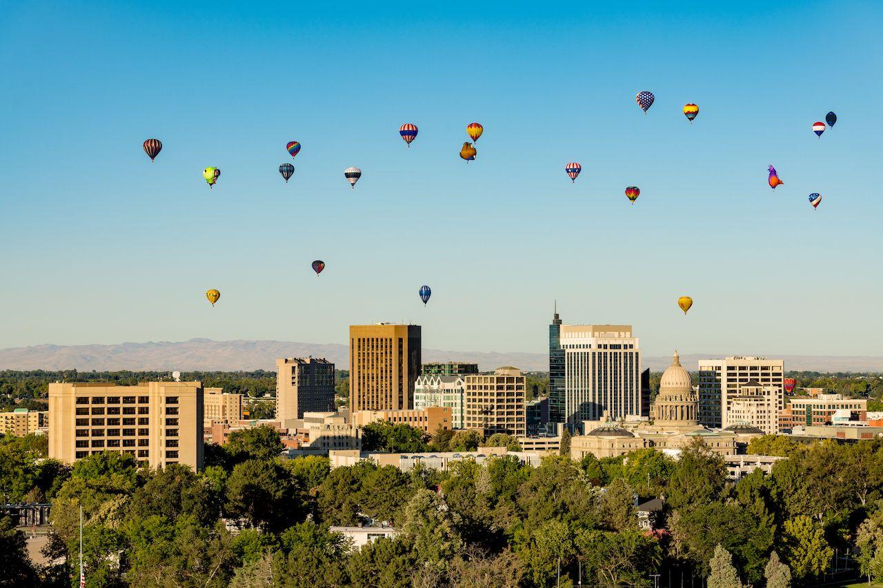 Balloons over Boise, Idaho